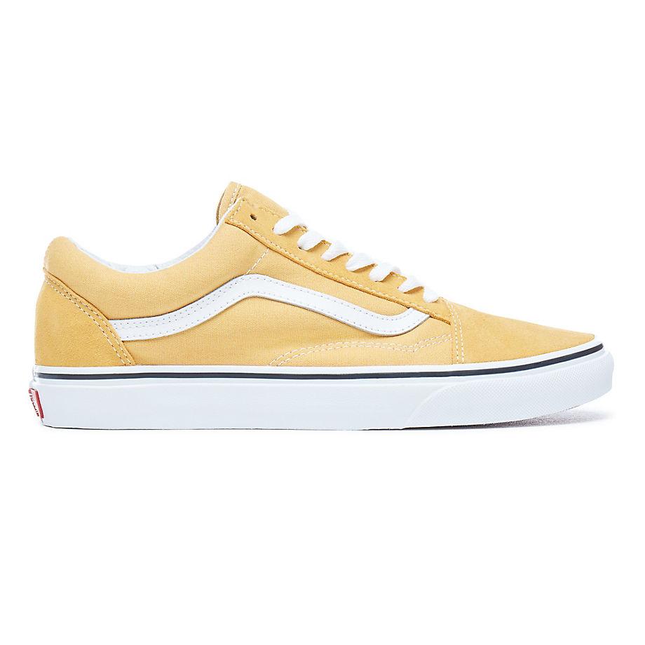 vans old skool dames geel