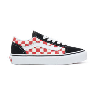 VANS Checkerboard Old Skool Kinderschoenen (zwart)