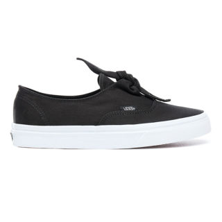 VANS Canvas Authentic Knotted Schoenen (zwart)