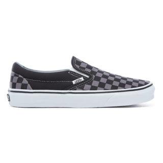 VANS Checkerboard Classic Slip-on Schoenen (zwart)
