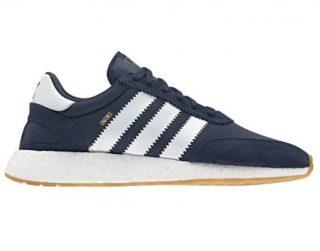 Adidas Iniki Runner Heren Sneaker (Blauw)