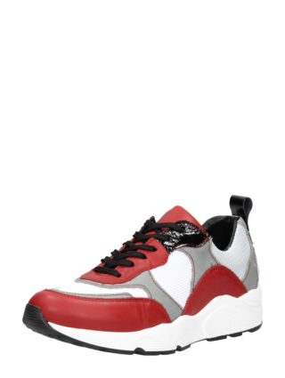 PS Poelman dad sneakers – Rood
