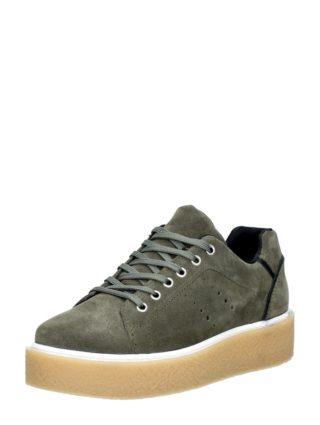 PS Poelman dames creepers sneakers – Groen