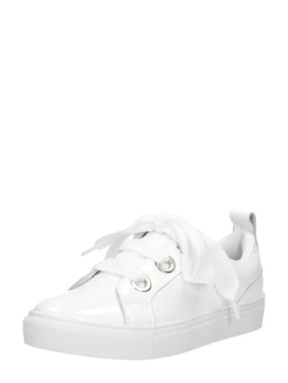 PS Poelman dames sneakers – Wit lak
