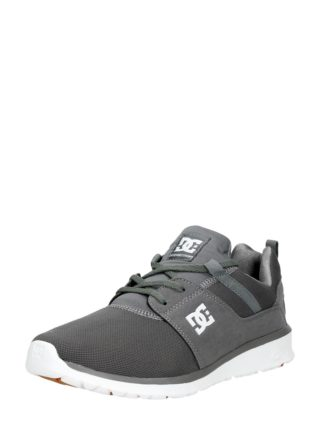 DC Heathrow herensneakers – Donkergrijs