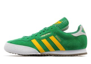 adidas Originals Samba Super (Green/Yellow)