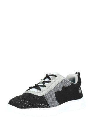 Rieker knitted sneakers – Zwart