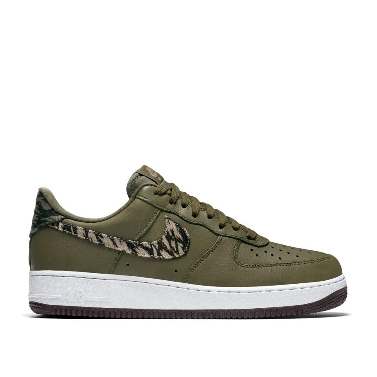 nike sportswear air force 1 '07 premium dames sneakers (groen)