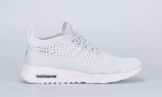Wmns Air Max Thea Flyknit (zilver/wit)