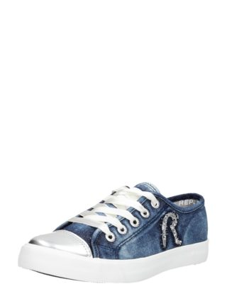 Replay Peach Low – Blauw