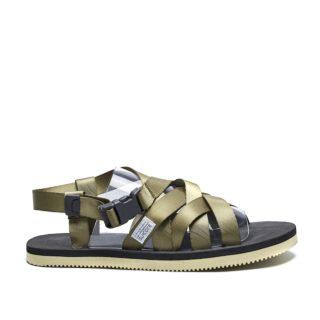 Suicoke Sandals SAMA (creme/groen)