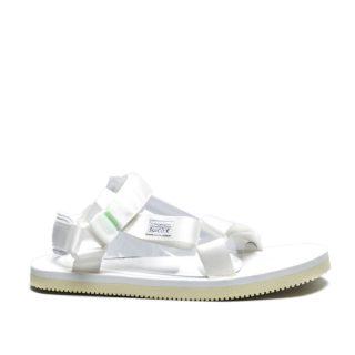 Suicoke Satin Sandals DEPA Cap (creme/wit)