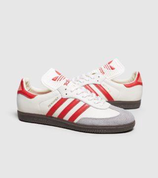 adidas Originals Samba Classic OG (wit/rood)