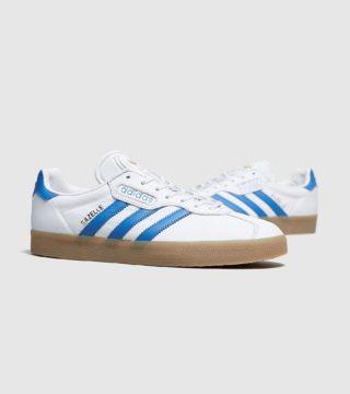 adidas Originals Gazelle Super (wit/blauw)