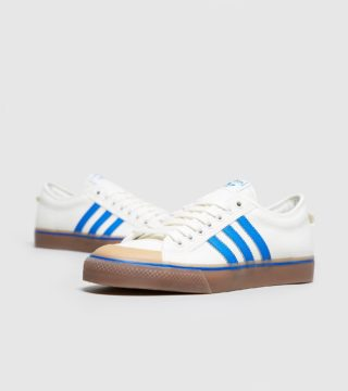 adidas Originals Nizza Low (wit/blauw)