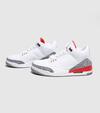 Jordan Air 3 'Katrina' (wit/rood)