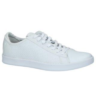 Skechers Memory Foam Witte Sneakers | SCHOENENTORFS.NL | Gratis verzend en retour