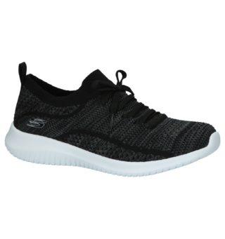 Lage Sportieve Sneakers Skechers Zwart | SCHOENENTORFS.NL | Gratis verzend en retour
