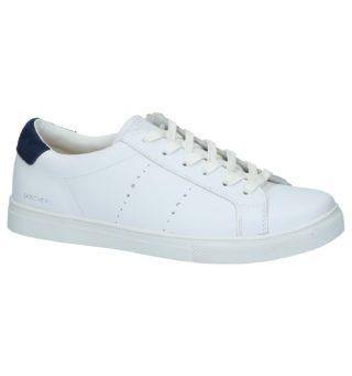 Skechers Memory Foam Witte Lage Geklede Sneakers | SCHOENENTORFS.NL | Gratis verzend en retour