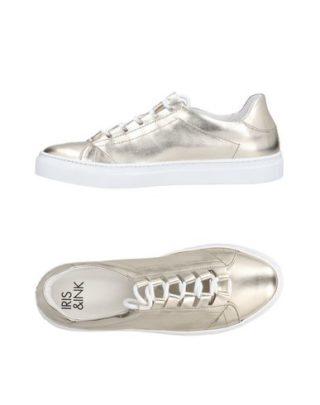 Iris & ink 11480623BP Sneakers (zilver)