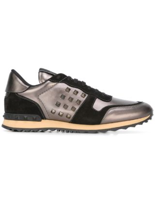 Valentino Valentino Garavani 'Rockstud' sneakers - Metallic