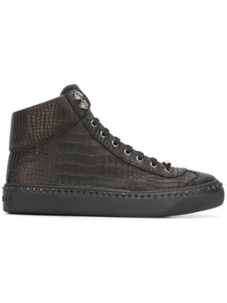 Jimmy Choo Argyle hi-top sneakers (zwart)