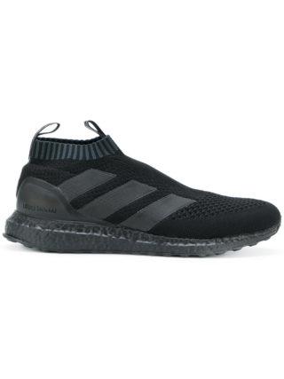 Adidas X Paul Pogba Adidas x Paul Pogba black slip on sneakers (zwart)