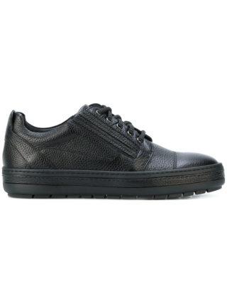 Baldinini textured lace-up sneakers (zwart)
