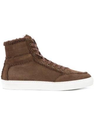 Koio Primo Coccinella hi-top sneakers (bruin)