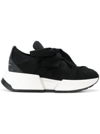 Mm6 Maison Margiela bandaged platform sneakers (zwart)