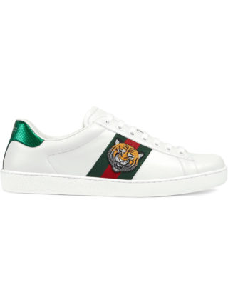Gucci Ace embroidered sneakers - White