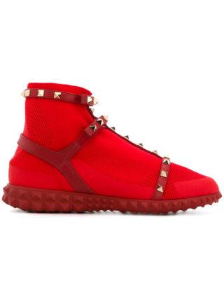 Valentino Valentino Garavani Free Rockstud Bodytech sneakers - Red