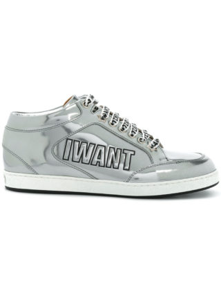 Jimmy Choo Miami sneakers (zilver)