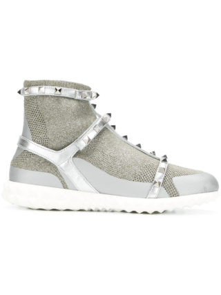 Valentino Valentino Garavani Rockstud Bodytech sneakers - Metallic