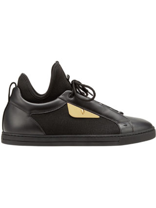 Fendi Bag Bugs sneakers (zwart)