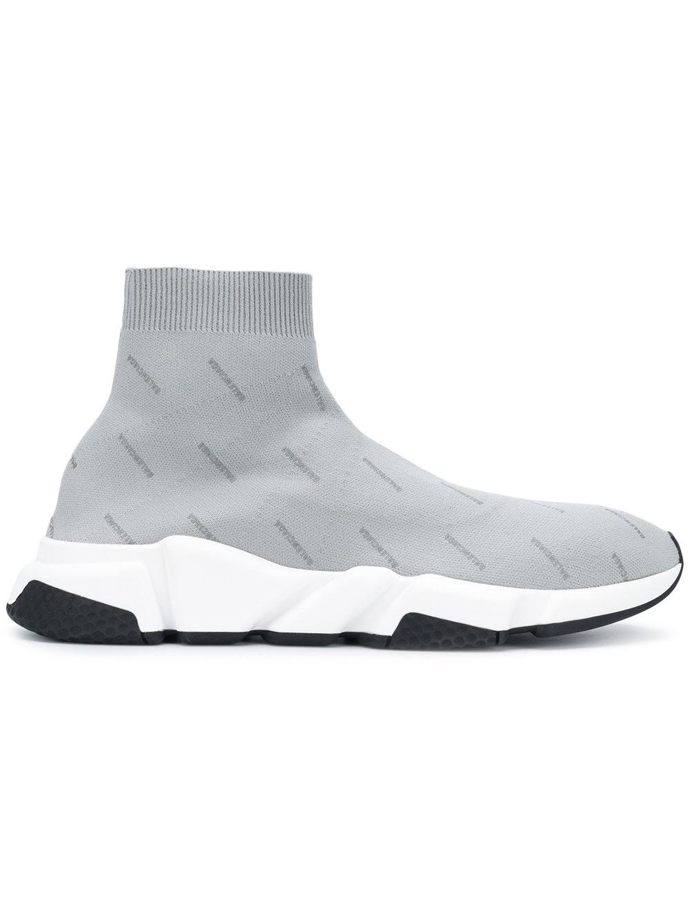 Sneakers Balenciaga Low Logo grijs Speed 512527w0650 x8tqYtvw