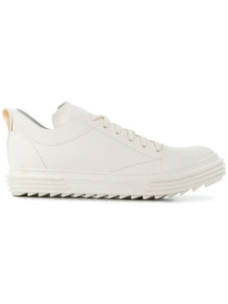 Artselab textured lace-up sneakers (wit)