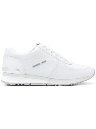 Michael Michael Kors Allie wrap sneakers - White