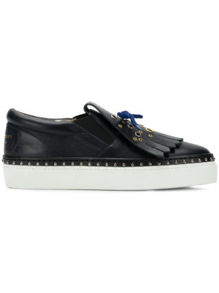 Burberry fringed sneakers (blauw)