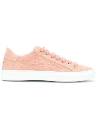 Hide&Jack lizard-effect sneakers (roze/paars)