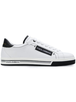 Dolce & Gabbana branded side classic trainers (wit)