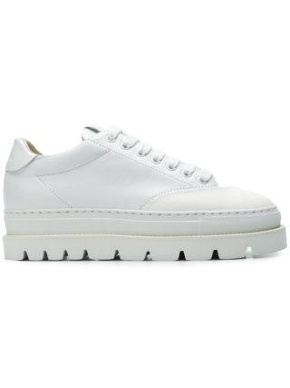 Mm6 Maison Margiela platform sneakers (wit)