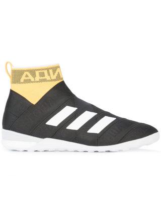 Gosha Rubchinskiy striped design high top sneakers (zwart)
