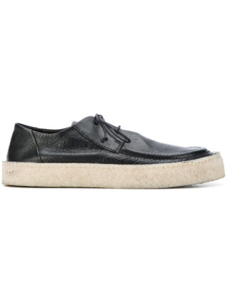 Marsèll classic lace-up sneakers (zwart)