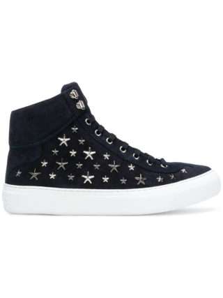 Jimmy Choo Argyle hi-top sneakers (blauw)