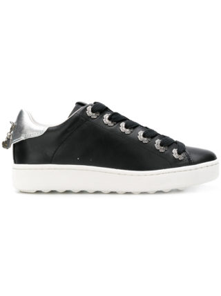 Coach low top sneaker (zwart)