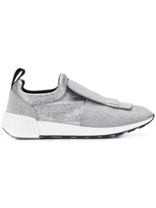 Sergio Rossi slip-on sneakers (zilver)