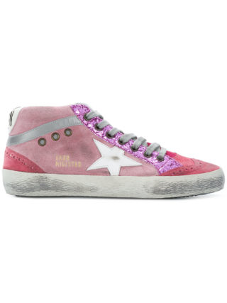 Golden Goose Deluxe Brand Mid Star sneakers - Pink & Purple