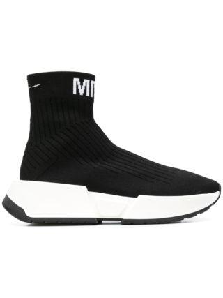 Mm6 Maison Margiela sock sneakers (zwart)