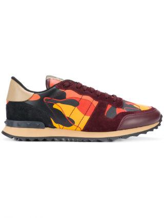 Valentino camouflage Rockrunner sneakers - Yellow & Orange
